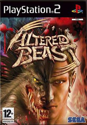 Altered Beast (2005 video game) - Image: PS2 Altered Beast Cover