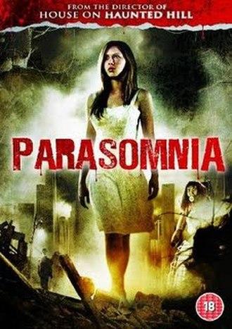 Parasomnia (film) - UK DVD cover