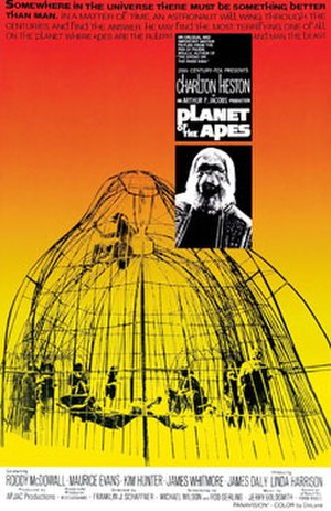 Planet of the Apes (1968 film) - Theatrical release poster