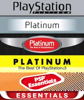 Essentials (PlayStation) Sony PlayStation budget range