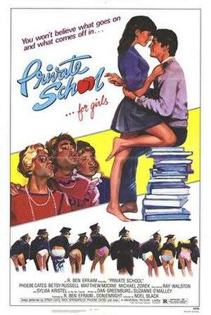 Private School (film) - Theatrical poster