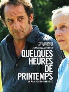 <i>A Few Hours of Spring</i> 2012 film by Stéphane Brizé