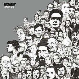 Magnifique (album) - Image: Ratatat Magnifique cover
