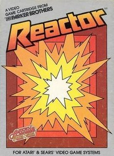 <i>Reactor</i> (video game) 1982 video game