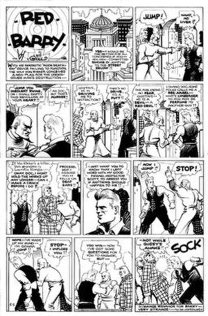 Red Barry (comic strip) - Will Gould's Red Barry (May 5, 1935)