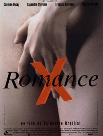 Romance (1999 film) - French film poster