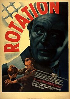 <i>Rotation</i> (film) 1950 film by Wolfgang Staudte