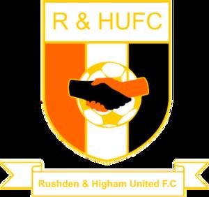 Rushden & Higham United F.C. - Image: Rushden & Higham United F.C. logo