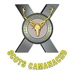 SCOTS Camanachd - Image: SCOTS Camanachd Crest
