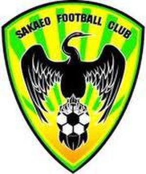 Sakaeo F.C. - Image: Sakaeonewlogo