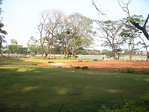 Sankey tank - Sankey tank was developed into a park in early 2000