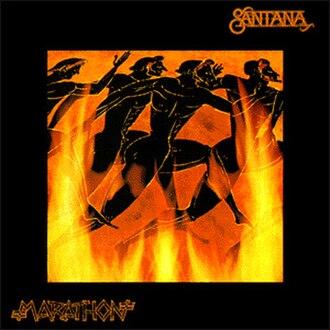 Marathon (Santana album) - Image: Santana Marathon Album