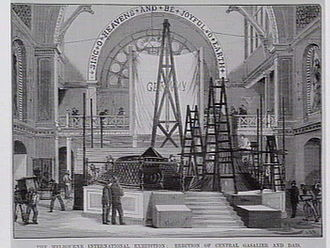 Melbourne International Exhibition (1880) - Preparations for the exhibition