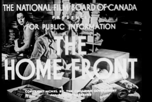The Home Front (film) - Opening title