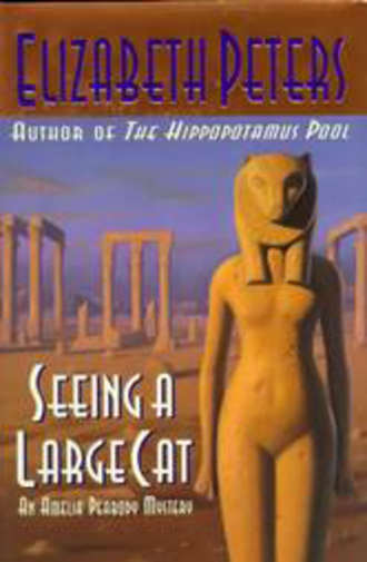 Seeing a Large Cat - Cover for the first edition of Seeing a Large Cat