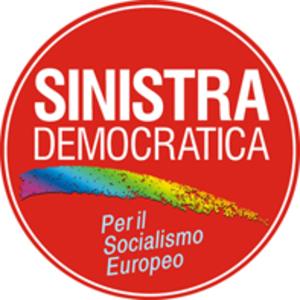 Democratic Left (Italy) - Image: Sinistra Democratica logo