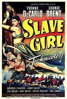 <i>Slave Girl</i> (film) 1947 film by Charles Lamont