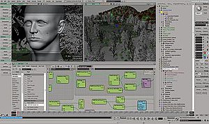 User interface of Softimage 2011