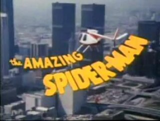 <i>The Amazing Spider-Man</i> (TV series) US 1970s television series