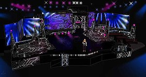 Melodifestivalen 2009 - The stage of the contest