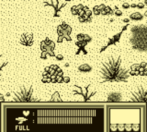 Star Trek: 25th Anniversary (Game Boy video game) - Captain Kirk has to confront two mutant enemies while on a strange planet.