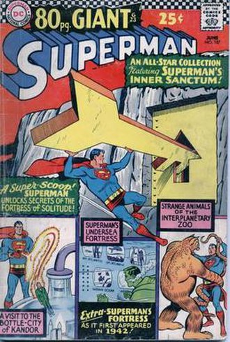 Fortress of Solitude - Image: Superman 187