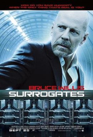 Surrogates - Theatrical poster