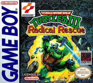 <i>Teenage Mutant Ninja Turtles III: Radical Rescue</i> 1993 Game Boy video game