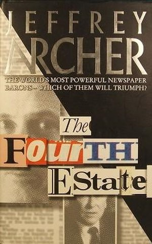 The Fourth Estate (novel) - First edition (UK)