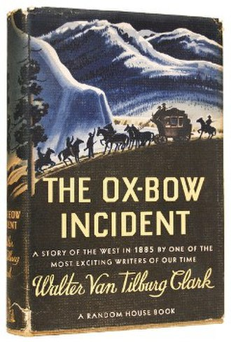 The Ox-Bow Incident (novel) - Image: The Oxbow Incident