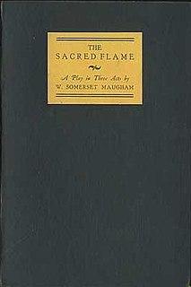 <i>The Sacred Flame</i> (play)