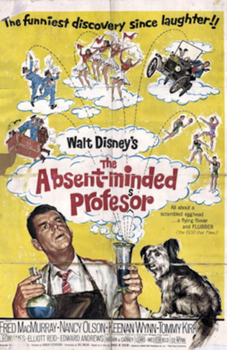 The Absent-Minded Professor - 1961 Theatrical Poster