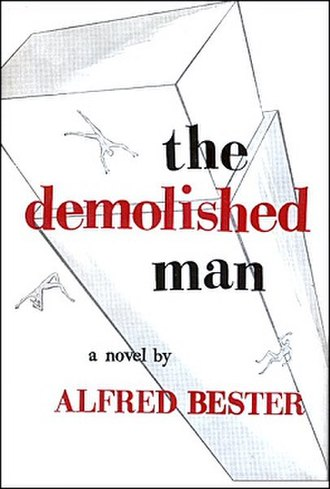 The Demolished Man - Cover of first edition (hardcover)