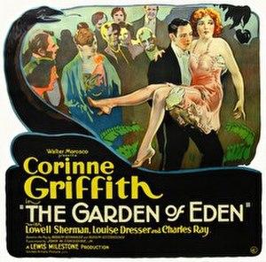 The Garden of Eden (1928 film) - Theatrical release poster