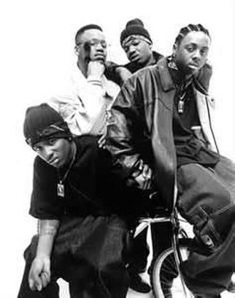 Hot Boys - From left to right: Turk, Juvenile, B.G., and Lil Wayne