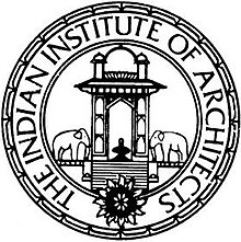 The Indian Institute of Architects (IIA), logo.jpg