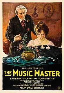 <i>The Music Master</i> (film) 1927 film by Allan Dwan