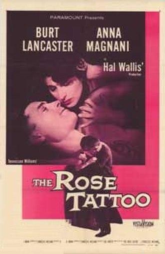 The Rose Tattoo (film) - Original film poster