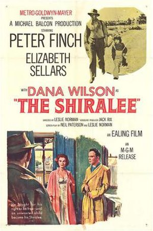 The Shiralee (1957 film) - Image: The Shiralee Film Poster