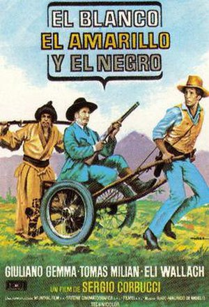 The White, the Yellow, and the Black - Spanish film poster
