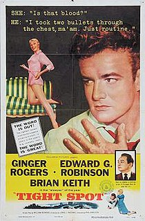 <i>Tight Spot</i> 1955 film by Phil Karlson