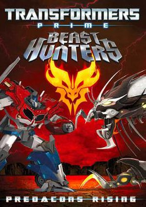 Transformers Prime Beast Hunters: Predacons Rising - DVD Release cover