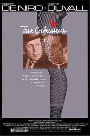 True Confessions (film) - Theatrical Release Poster