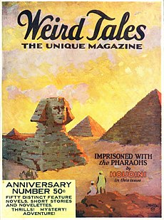 Imprisoned with the Pharaohs short story by H. P. Lovecraft