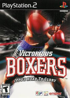 <i>Victorious Boxers: Ippos Road to Glory</i> 2000 video game