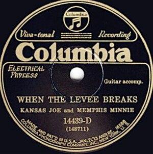 When the Levee Breaks - Image: When the Levee Breaks single cover