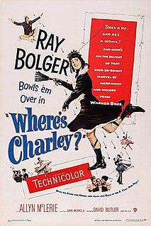 <i>Wheres Charley?</i> (film) 1952 film by David Butler