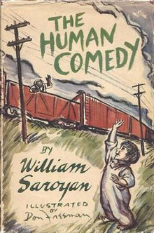 William Saroyan - The Human Comedy (novel).jpg