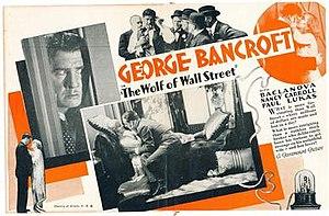 The Wolf of Wall Street (1929 film) - Wikipedia