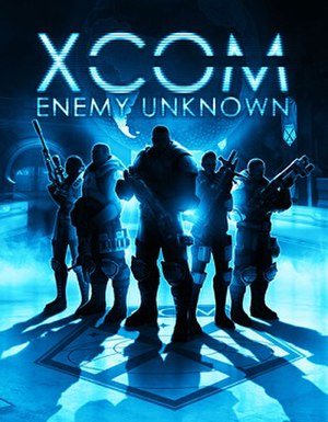 XCOM: Enemy Unknown - Cover art